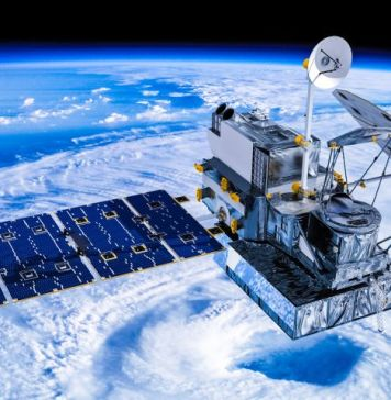 Visualization of the GPM Core Observatory satellite orbitting the planet earth. Credit Britt Griswold The Global Precipitation Measurement (GPM) mission is an international partnership co-led by NASA and the Japan Aerospace Exploration Agency (JAXA)