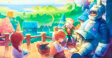 My Time At Portia Game Review Cover Art Box Drawing Concept Alpha Trailer Release Info