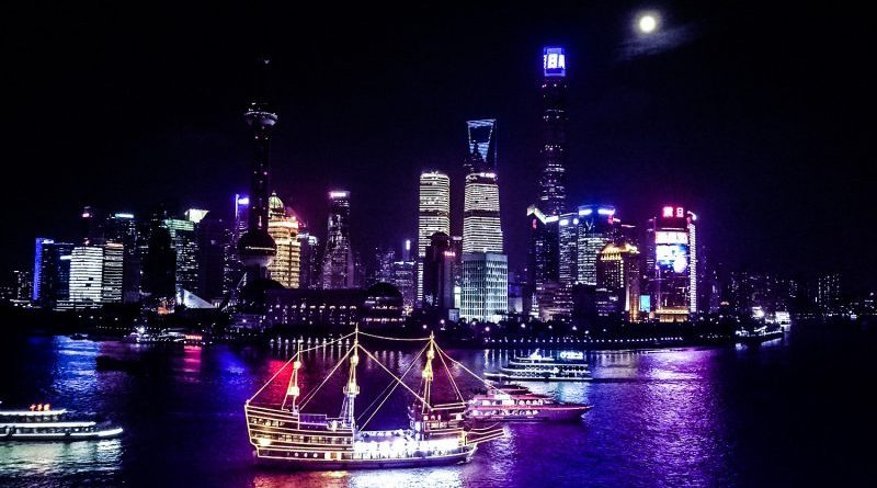 Shanghai The Bund View Huawei Crop