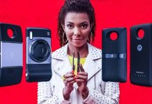 moto-z2-play-mods-review-woman-standing-using-smartphone-looking-cool-crop