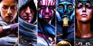 ACO Ubisoft Assassins Creed Origins Ancient Egypt Character Lineup Video Review Lets Play Artwork Concept Art