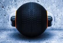 river guardbot wheel ball Robot surveillance camera mobile portable soccer game multipurpose tech Spherical Amphibious Robotic Vehicle Systems
