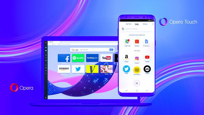 Opera Touch New Browser with Focus on Truly Mobile Users News