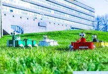 Zebro Swarm Robotics Intelligence AI TU Delft Innovation Hexabod Robots Video Swarming
