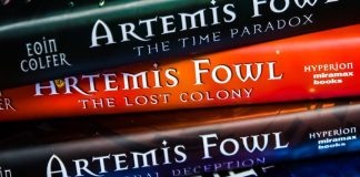 Artemis Fowl Books Stack Movie Disney New Release Information Plan Actors Staff