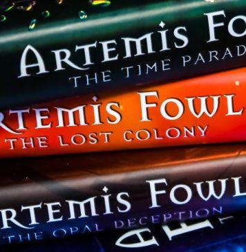 Artemis Fowl Books Stack Movie Disney New Release Information Plan Actors Staff