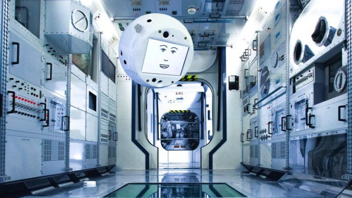 CIMON ISS Airbus IBM Watson AI Companion Space Crew Support Ball Sphere Free Flyer New