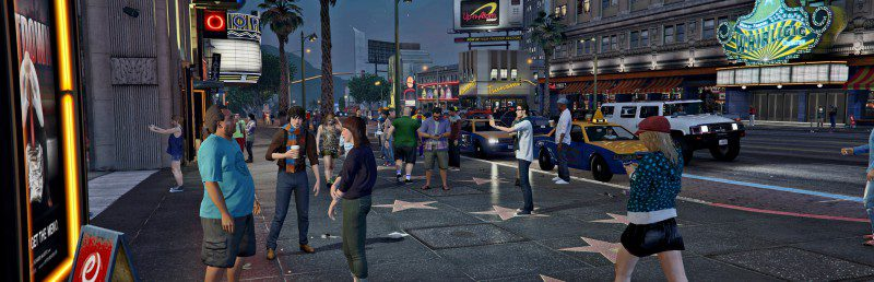 GTA 5 Screenshot Avenue Of The Stars Vinewood Pseudo Hollywood Game