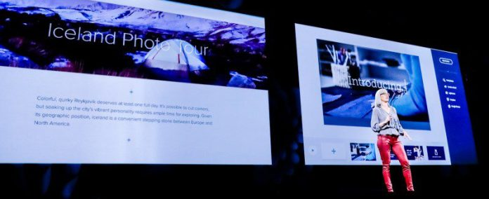 Jamie Myrold vice president of design discusses Adobe XD CC MAX 2017 Las Vegas Stage Event