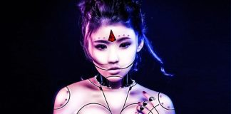 Robotic Girl Twitter Automation RSS Feed Posting Asian Photo Manipulation
