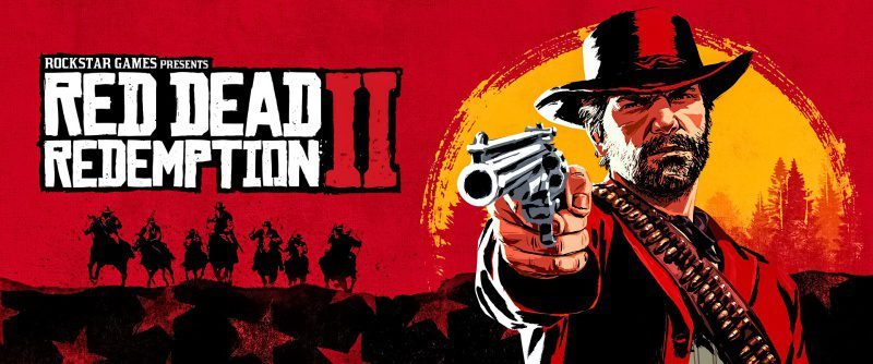 Rockstar Games Red Dead Redemption 2 II Video Trailer Cover Image Cowboys Red MMO Open World Game