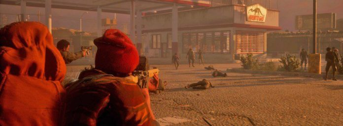 state of decay 2 gas station zombies shooting graphics