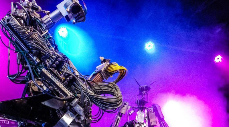 Compressorhead rocks robots metal band video