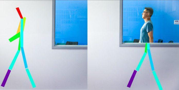 MIT AI Sees Through Walls X-ray Wireless Stickmen Science Research Mingmin-RF-Pose-MIT-CSAIL