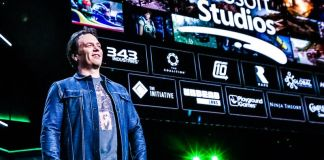 Phil Spencer Microsoft Keynote Speech Photo E3 2018 Announcing Xbox Updates Gaming News Titles Releases Launches Next Gen Consoles