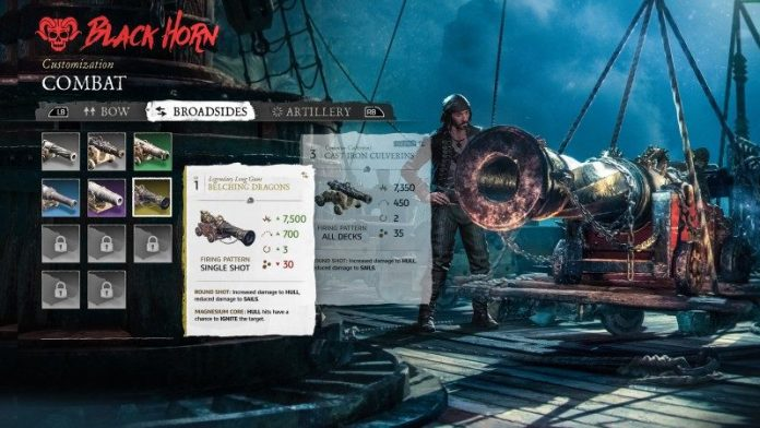 Skull and Bones E3 Ubisoft Release News Preview Pirate Game Conference Farren Ships Shop Equipment Customization Screen Building