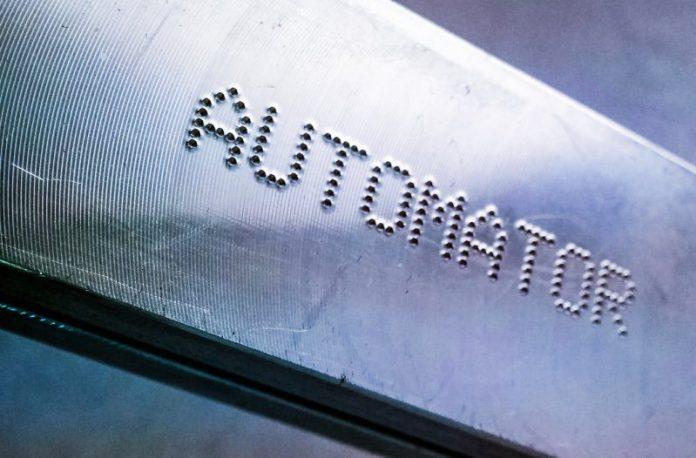 Automator Dot Peen Pinmark Marking Graving Machines Logo Etching Laser Pressing