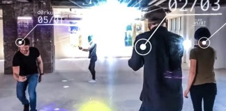 Codename Neon Niantic Example Footage AR Games Future Players Outside Demo