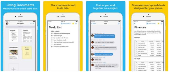 Note taking keeping apps android ios Quip