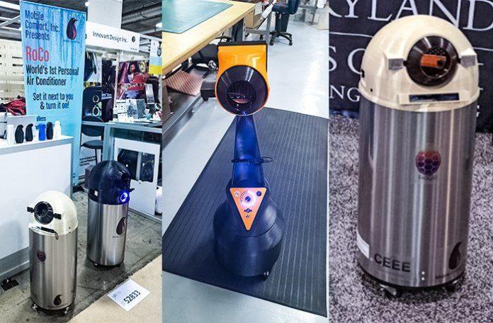 Mobile Comfort RoCo Robot AC prototypes