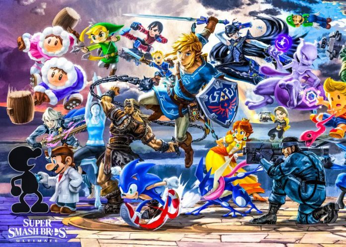 Nintendo Direct Reveals More Characters Stages for Super Smash Bros Ultimate