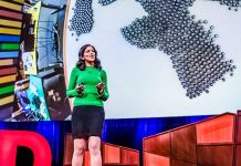 YouTube What intelligent machines can learn from a school of fish Radhika Nagpal Biomimicry Stage Tech Science Robotics Motion Engagement TED Talk Video