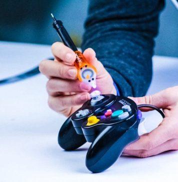 Bondic Not Glue Fixing Gaming Controller Plastic Liquid Fix Not Hot Not Injury Dangerous Danger Nintendo Gamecube