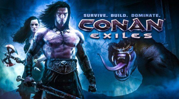 Conan Exiles Fantasy Survival Game Review Funcom Article Key Art Cover