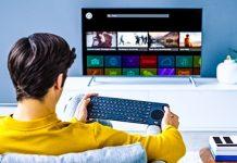Logitech Remote Smart TV Keyboard K600