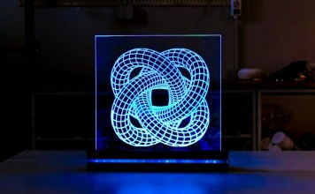 CNC 3d printing engraving illusion pattern device how to video