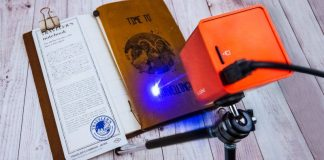 Muherz Inc Startup Laser Engraving Tool Cube Gadget Cubioo Review Article Price Burning Designs Etching Home Consumer USB Storage Card Automated CAD Edit