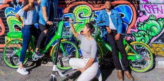 Entire fleet Lime Bike Micromobility