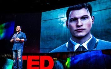 David Cage Quantic Dream Game Designer Studio Devoper Story Telling TED Talk Dynamic Content Decision Making Taking Entertainment Event Speech Presentation