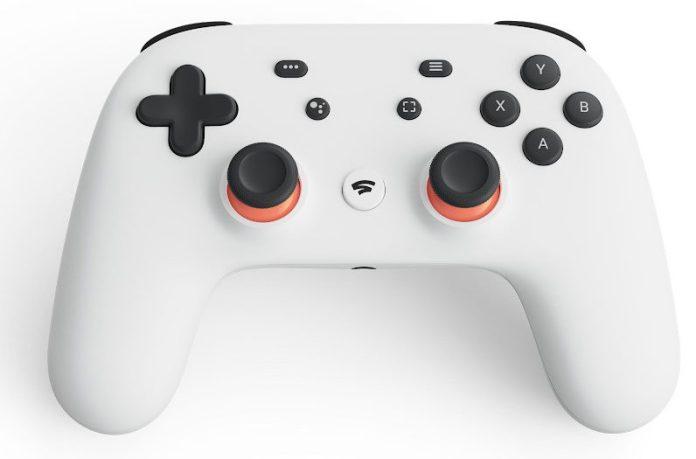 Google Stadia Controller Gaming Streaming Design