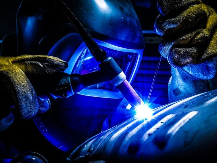 Man Welding Worker Manual Labor Manufacturing Process Engineering Workflow Automation PLC