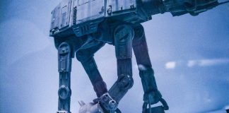 Star Wars AT-AT Phil Tippett Imperial Walker Go Motion ILM Effects