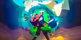 Moonlighter Review ARPG Roguelike Storekeeping Simulation Fantasy Village Dungeon Crawling Game Key Art Will