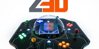 Voxon Photonics Z3D Holographic Arcade Retro Gaming Console Crop