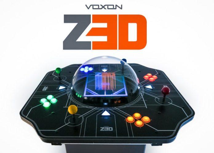 Voxon Photonics Z3D Holographic Arcade Retro Gaming Console Crop