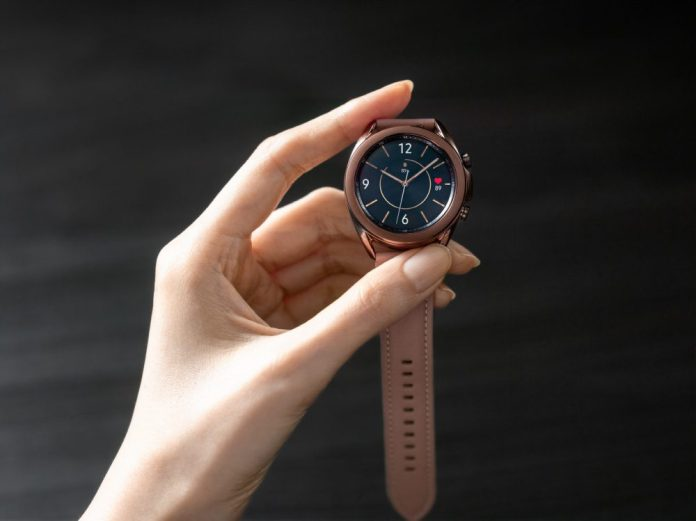Samsung Galaxy Watch 3 Product Image Hands Holding