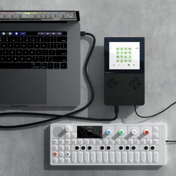 8-Nanoloop + OP-1 + macbook
