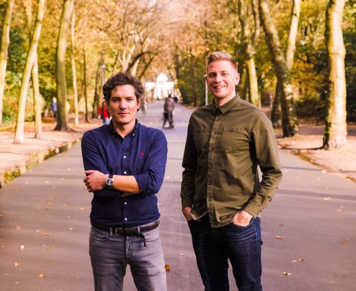 Cooper Private Professional Networking App Founders CEO Robert Gaal and CTO Emiel van Liere