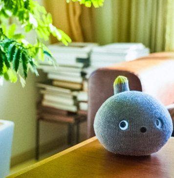 Farting Cat Pet Robot Nicobo Panasonic Cute Plushie Toy Japanese