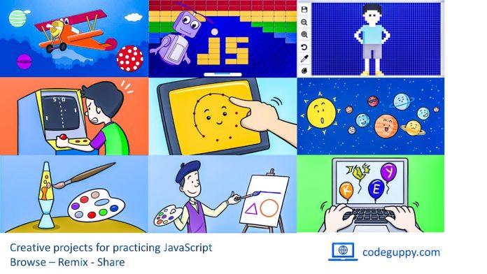 CodeGuppy photos coding program graphics