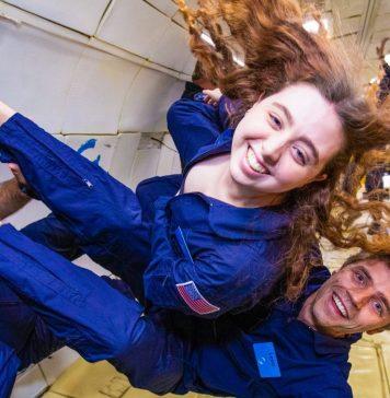 Zero G Fridge Microgravity Food Space Astronauts - Paige Beck and Leon Brendel