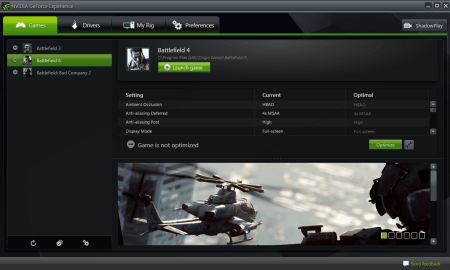 NVIDIA GeForce Experience Update