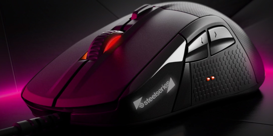 SteelSeries Rival 700 Modular Gaming Mouse With OLED