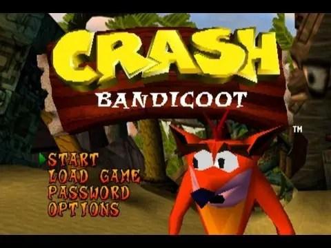 Crash Bandicoot PlayStation E3