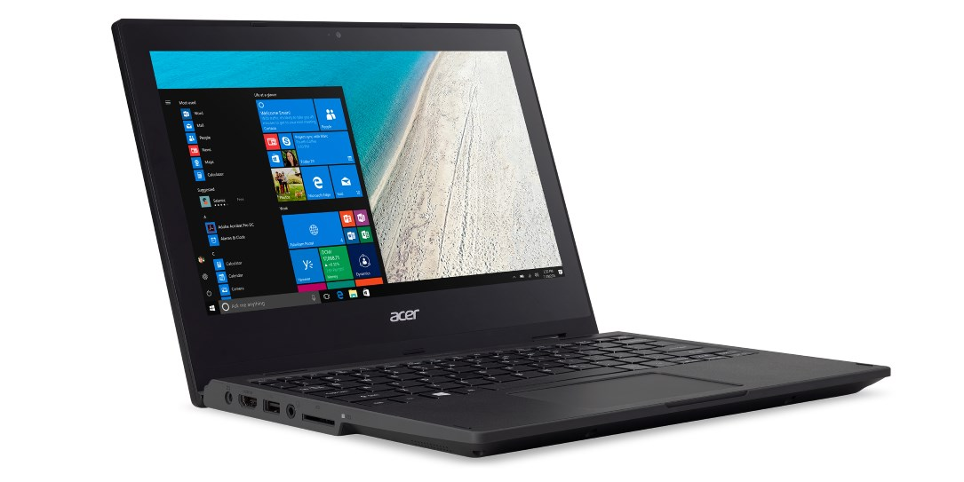 Acer Adds Durable Acer TravelMate Spin B1 To Laptop Lineup