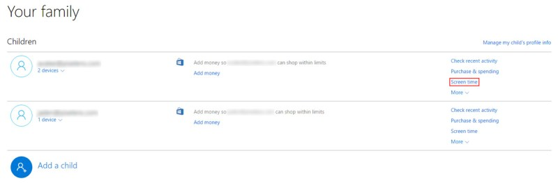 Microsoft-Account-Family